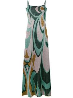 платье с абстрактным узором Circus Hotel