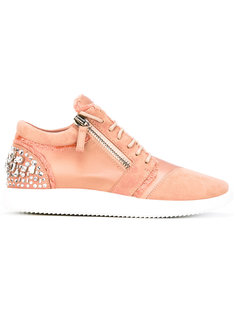 crystal embellished sneakers Giuseppe Zanotti Design
