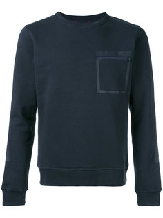 zipped chest pocket sweatshirt Woolrich