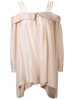 off-shoulder blouse Erika Cavallini