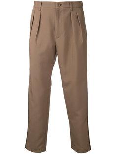 pleat detail trousers  En Route