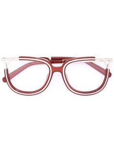 очки с металлическими деталями Chloé