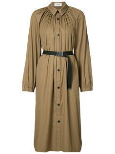 pleated coat Lemaire