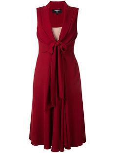 платье с глубоким V-образным вырезом Paule Ka