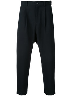 cropped straight trousers En Route