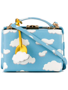 cloud print box bag Mark Cross