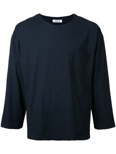 chest pocket T-shirt monkey time