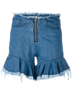 шорты с расклешенными манжетами Marquesalmeida