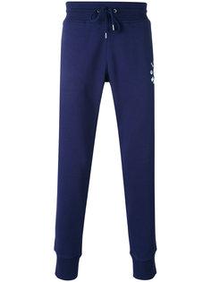 спортивные штаны на завязках с принтом Love Moschino