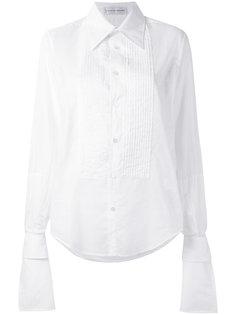 полупрозрачная рубашка со вставкой в складку Faith Connexion