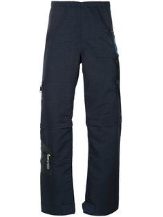 брюки на молниях с карманами Longjourney