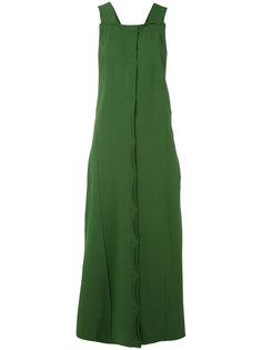 платье длины миди на пуговицах Boboutic