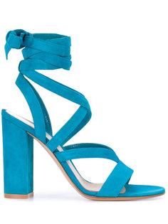 босоножки с ремешками и открытым носком Gianvito Rossi