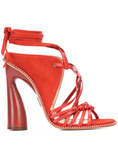 lace-up strappy sandals Paul Andrew