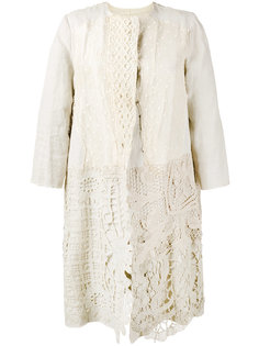 Antique Lace Coat  By Walid