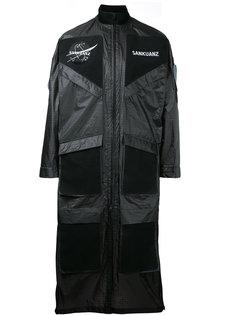 patch pocket coat Sankuanz
