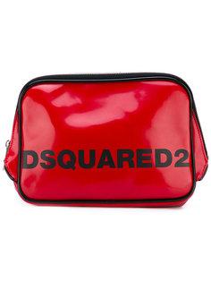 косметичка с логотипом бренда Dsquared2