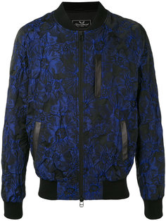 floral jacquard bomber jacket Unconditional