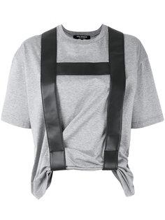 футболка с контрастной отделкой Junya Watanabe Comme Des Garçons