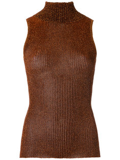 turtle neck knitted tank Gig