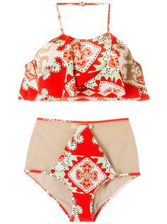 printed bikini set Adriana Degreas