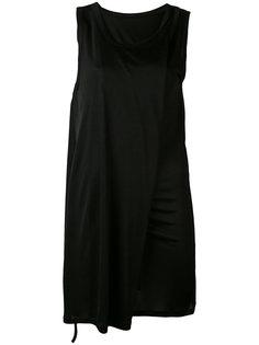 платье с драпировками Ann Demeulemeester