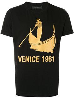 printed T-shirt Christian Pellizzari