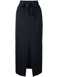 юбка миди с поясом  Nanushka
