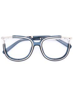 очки с металлическими вставками Chloé