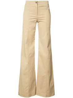 Wanderlust flared trousers Veronica Beard