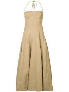 halterneck flared dress Ulla Johnson