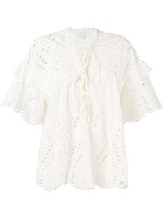 блузка с вышивкой Iro