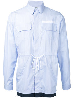 striped shirt jacket Casely-Hayford