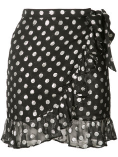 polka dot ruffle skirt Dodo Bar Or