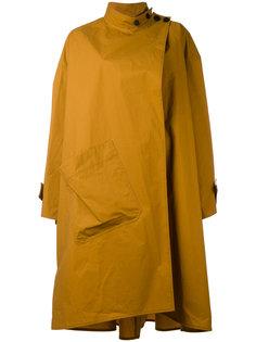 объемное асимметричное пальто Lemaire