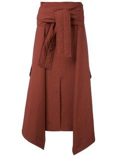 shirt waist tie skirt Marni