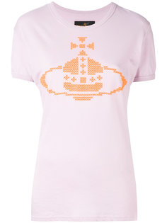 cross stitch logo T-shirt Vivienne Westwood Red Label