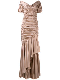 вечернее платье с открытыми плечами Dolce & Gabbana