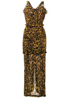 leopard print dress Alessandra Rich