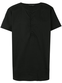 футболка с вырезом-хенли Christian Pellizzari