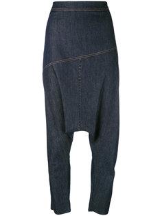 джинсы с заниженной проймой Nostra Santissima