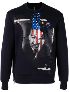 Martin Luther King sweatshirt Neil Barrett