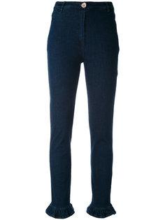 frill hem jeans Manoush