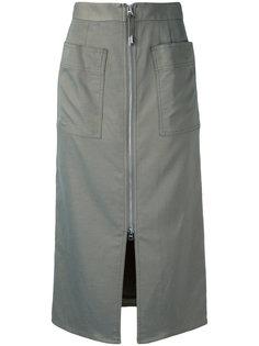 юбка с молнией спереди  Cityshop