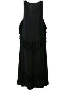 длинное расклешенное платье Nº21