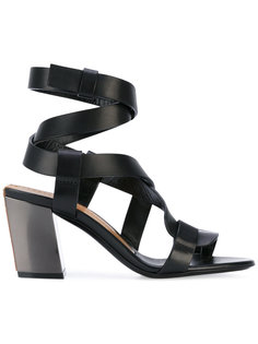strappy heeled sandals Tom Ford
