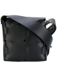 puzzle effect shoulder bag Paco Rabanne