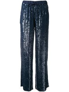брюки с пайетками Gughi P.A.R.O.S.H.