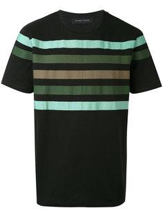 футболка с полосками Christian Pellizzari