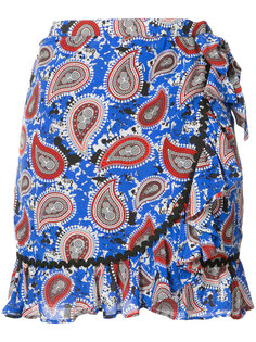 paisley print ruffle skirt Dodo Bar Or